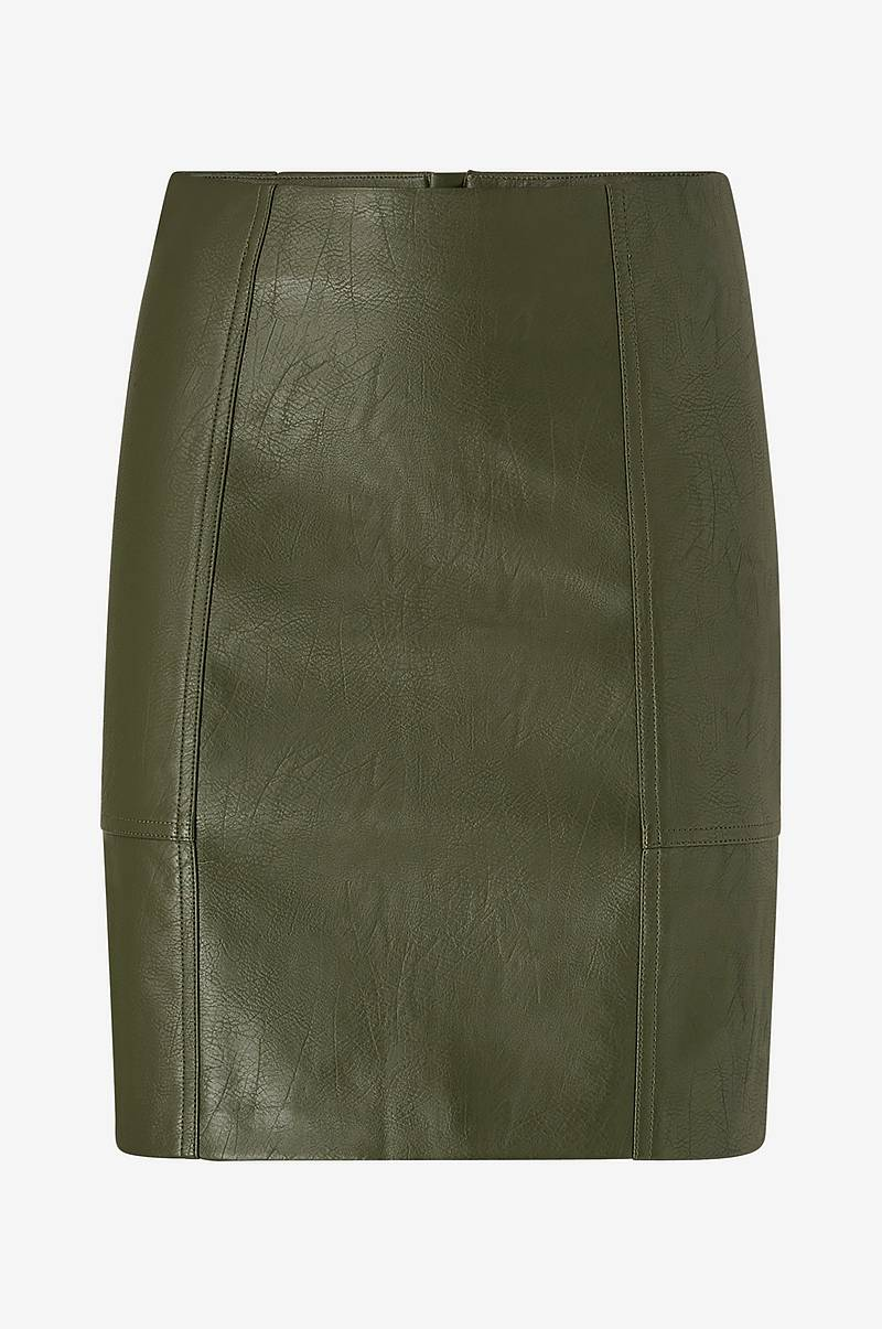 Nederdel onlSky Faux Leather Skirt