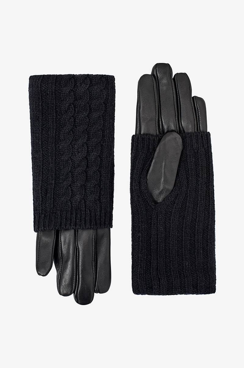 Handsker vmMia Leather Gloves Boos