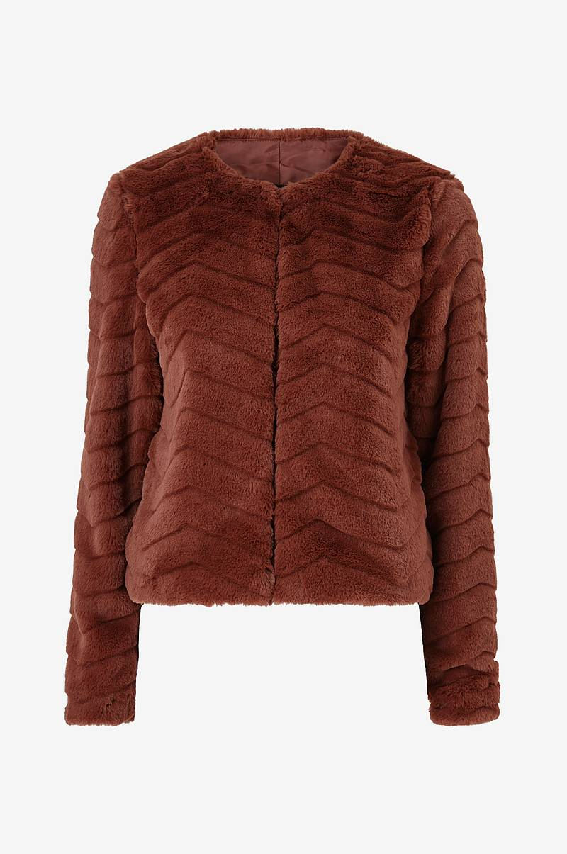 Fuskepels vmBrooklyn faux Fur Short Jacket