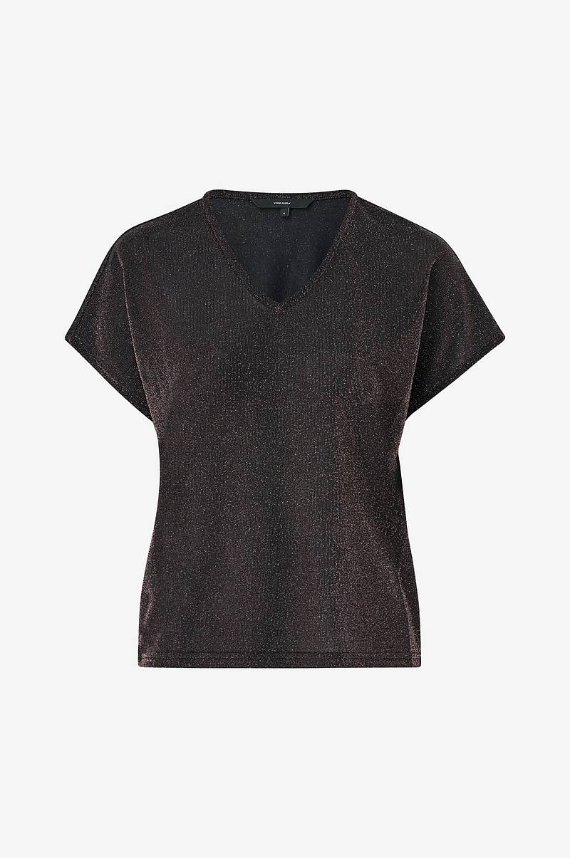Topp vmDenise SS V-neck Top