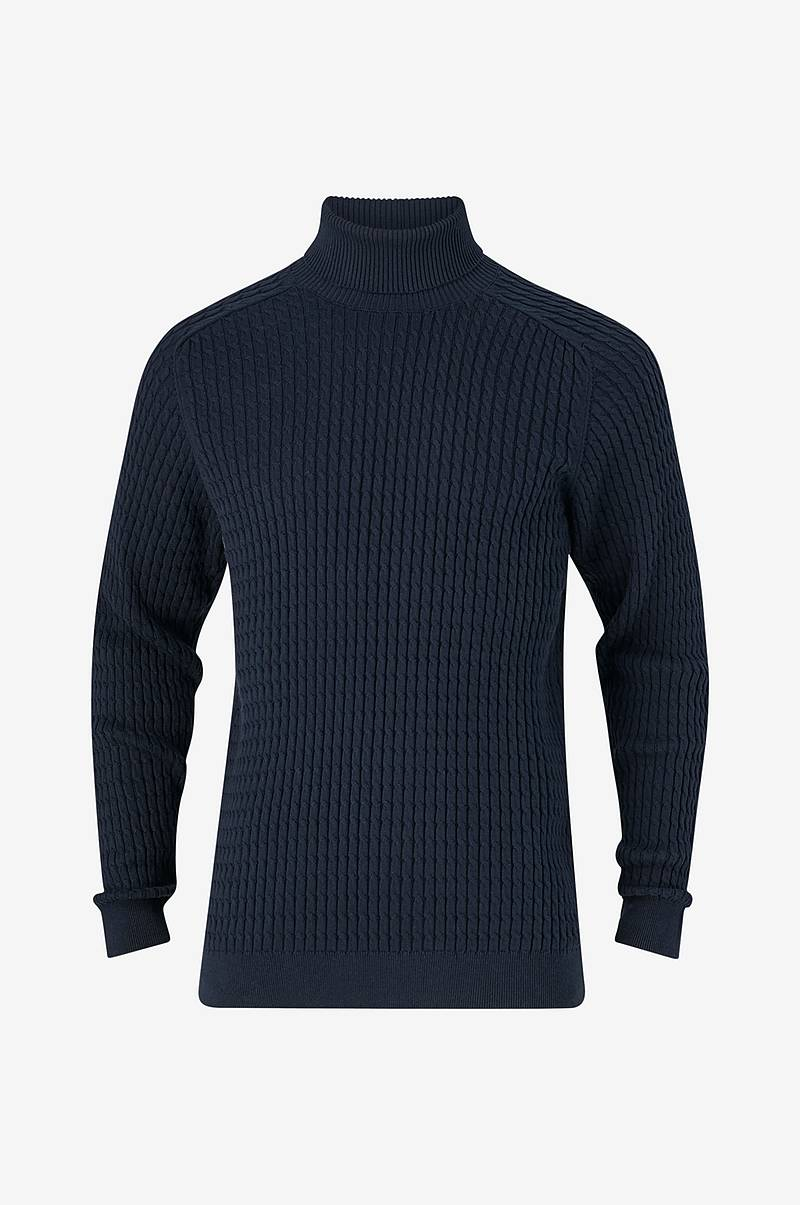 Neulepusero slhCarlos Cable Roll Neck W