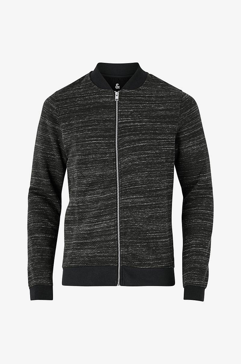 Sweatshirt jprAngus Bla Sweat Zip