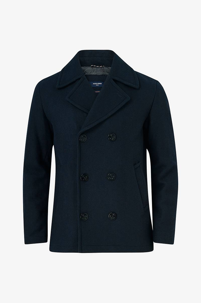 Skipperjakke jprHicks Wool Peacoat