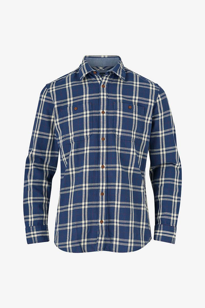 Skjorta jprFelix Check Shirt L/S Worker