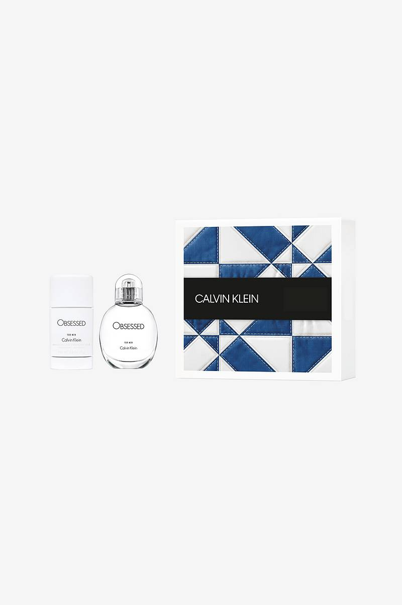 Gaveæske Calvin Klein Obsessed For Men EdT 30 ml / Deo Stick 75 ml