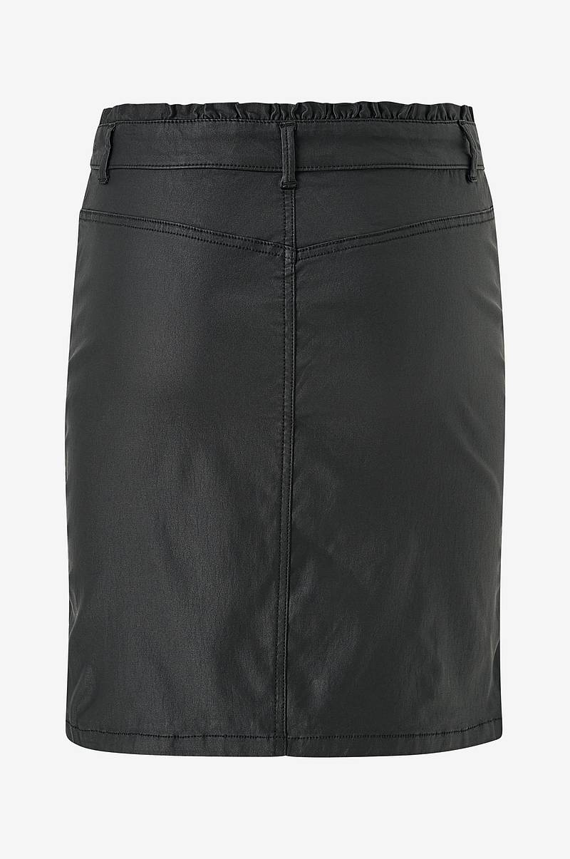 Kjol vmManu Coated Ruffle Skirt