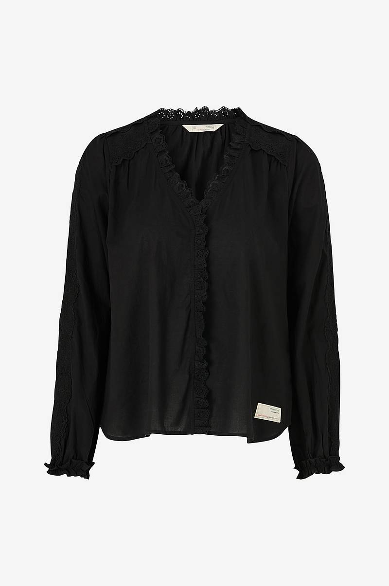 Blus Sleeves Up Blouse