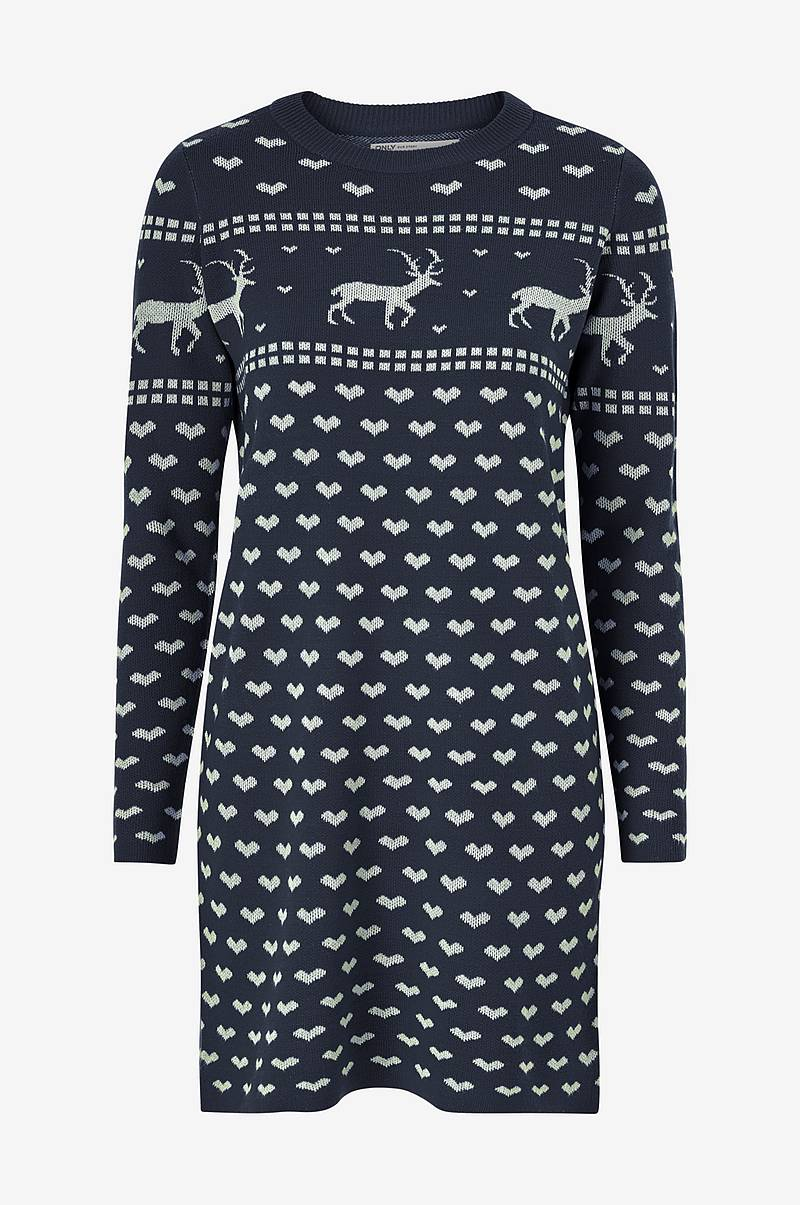 Klänning onlHeartmas L/S Dress