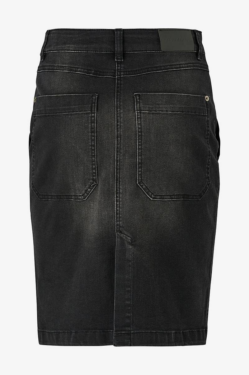 Farkkuhame Lucienne Denim Utility Skirt