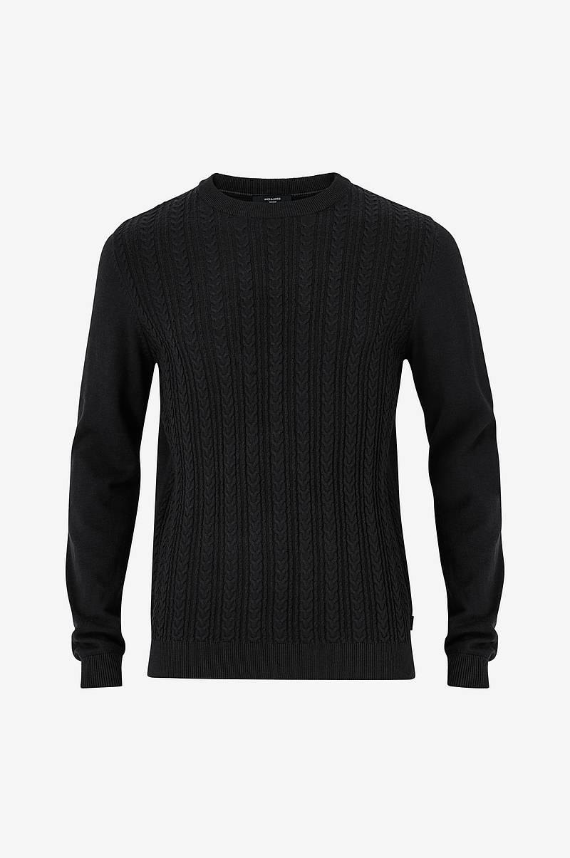 Neulepusero jprFast Cable Knit Crew Neck