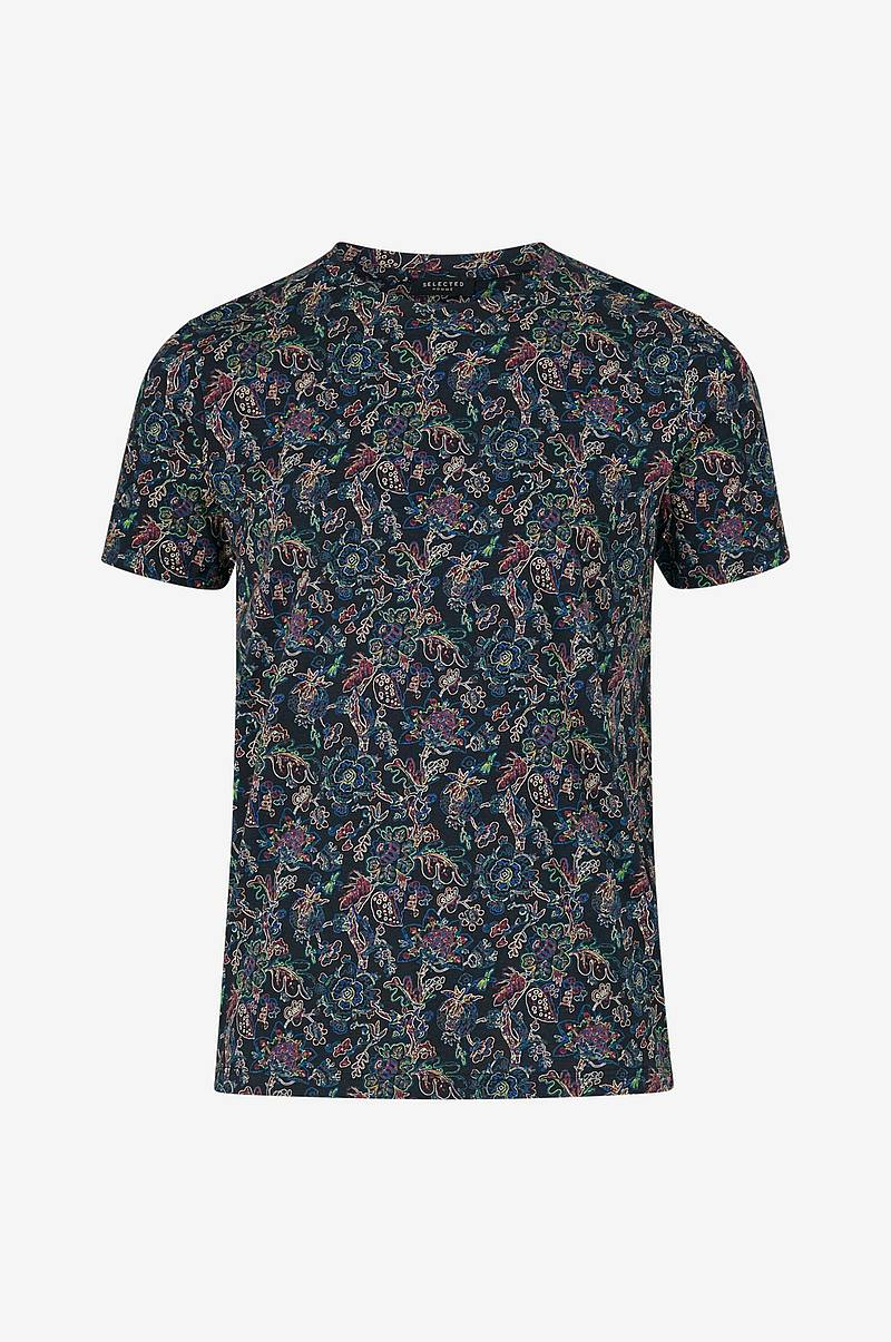 T-shirt slhNeo Aop SS O-neck Tee