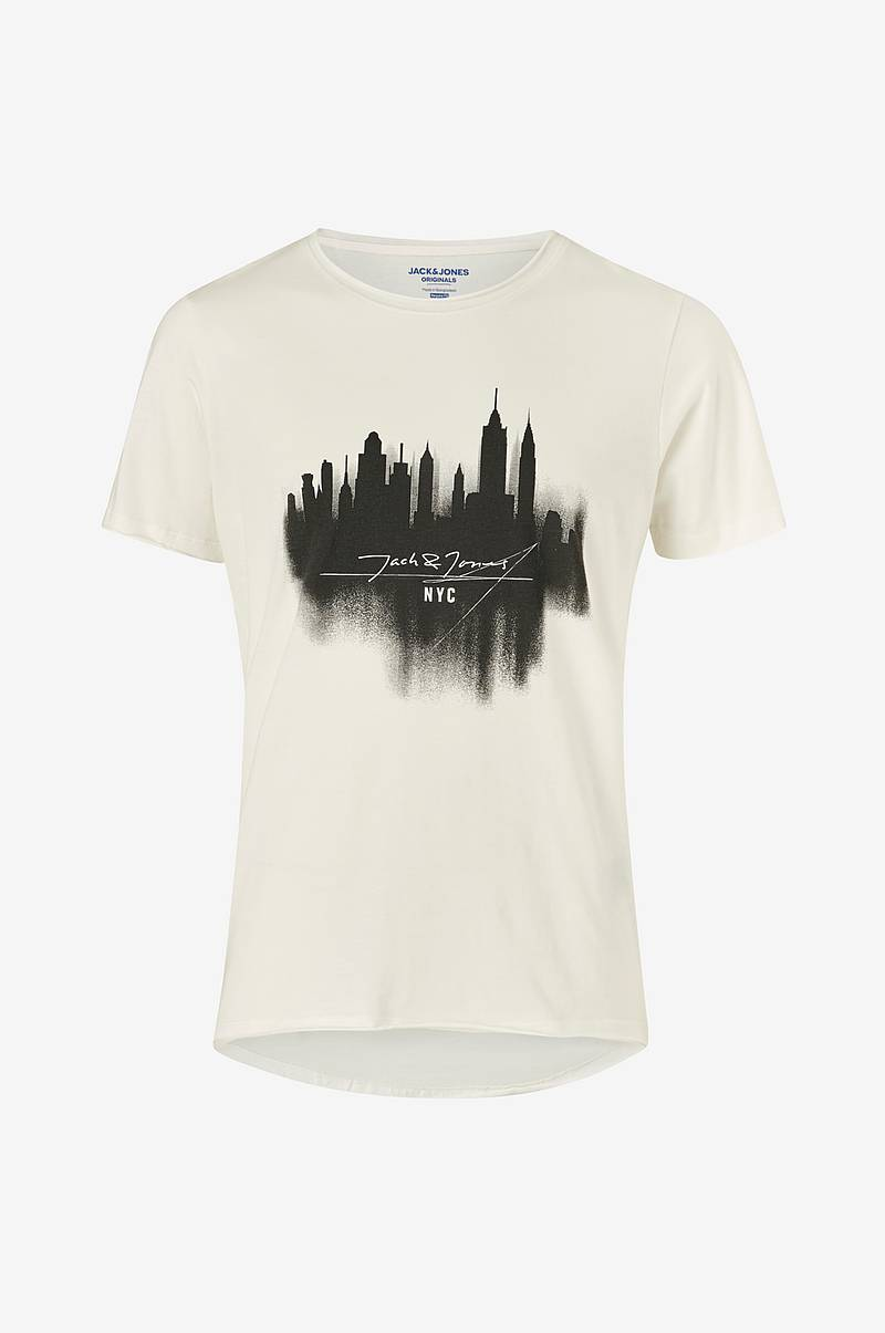 T-shirt jorDark City Tee SS Crew Neck