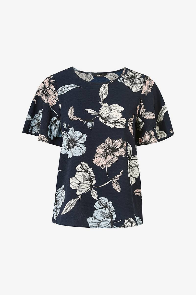 Bluse onlNova Lux Aop New S/S Top