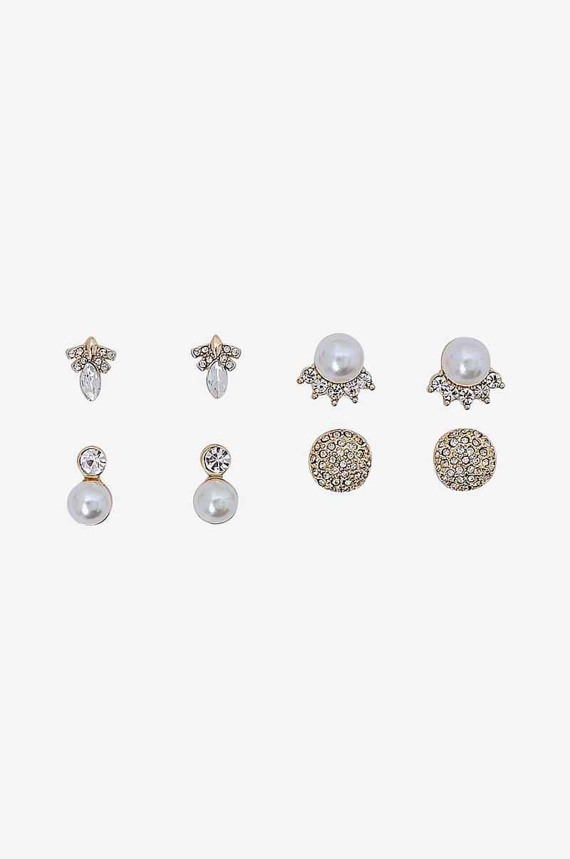 Örhängen pcJosephine Earrings Key 4-pack