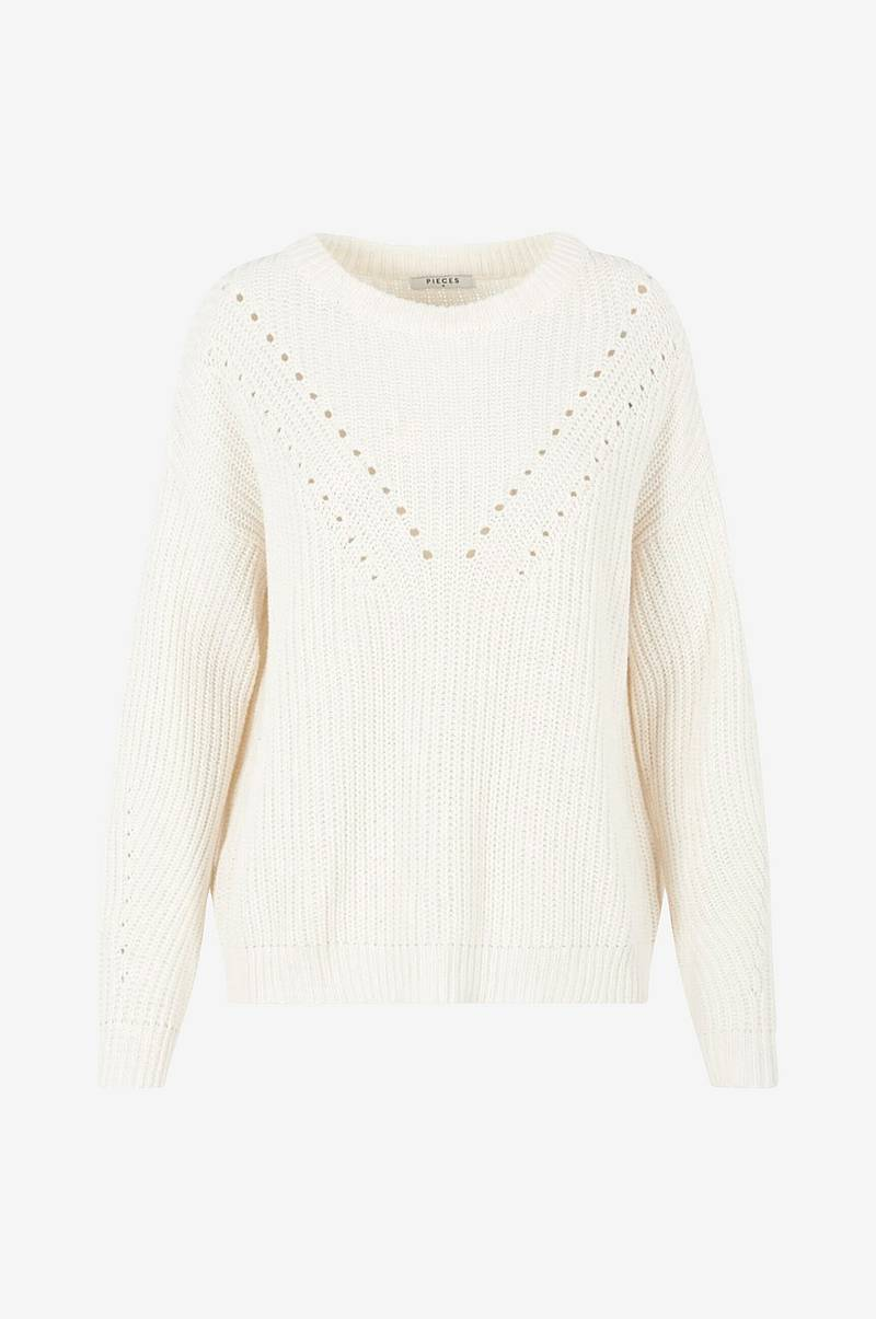 Neulepusero pcJo LS O-neck Knit Camp