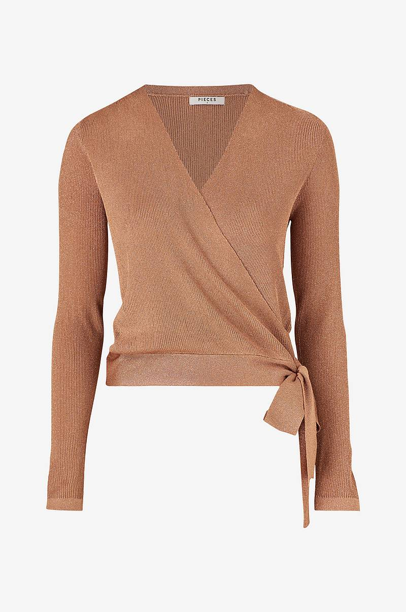 Top pcJenna LS Wrap Knit