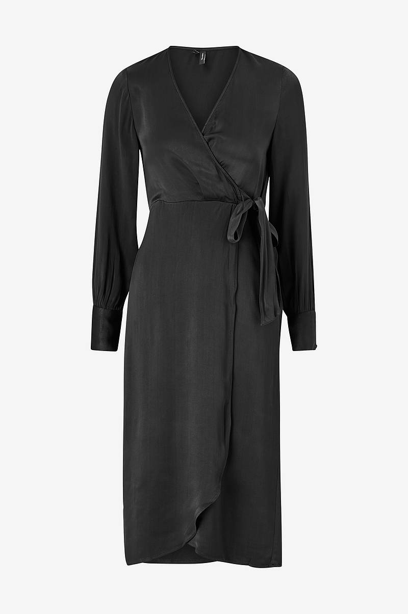 Klänning vmGili 7/8 Calf Wrap Dress