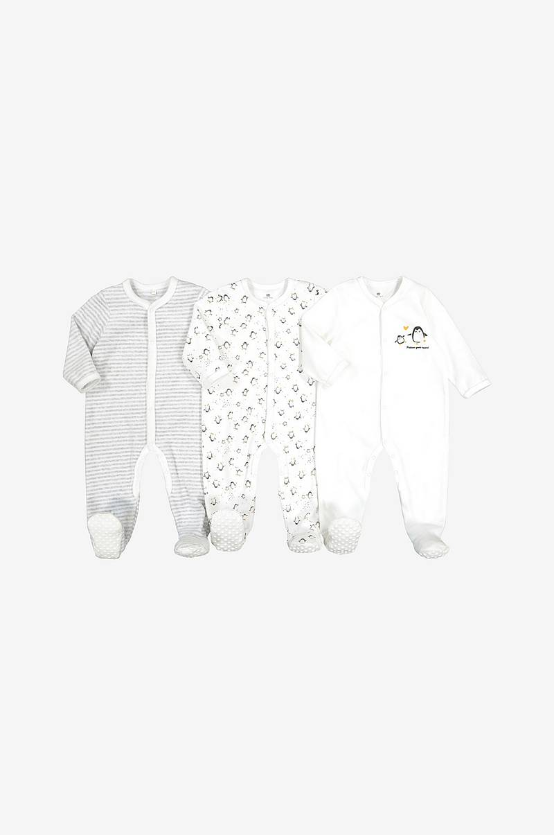 Velourpyjamas 3-pack