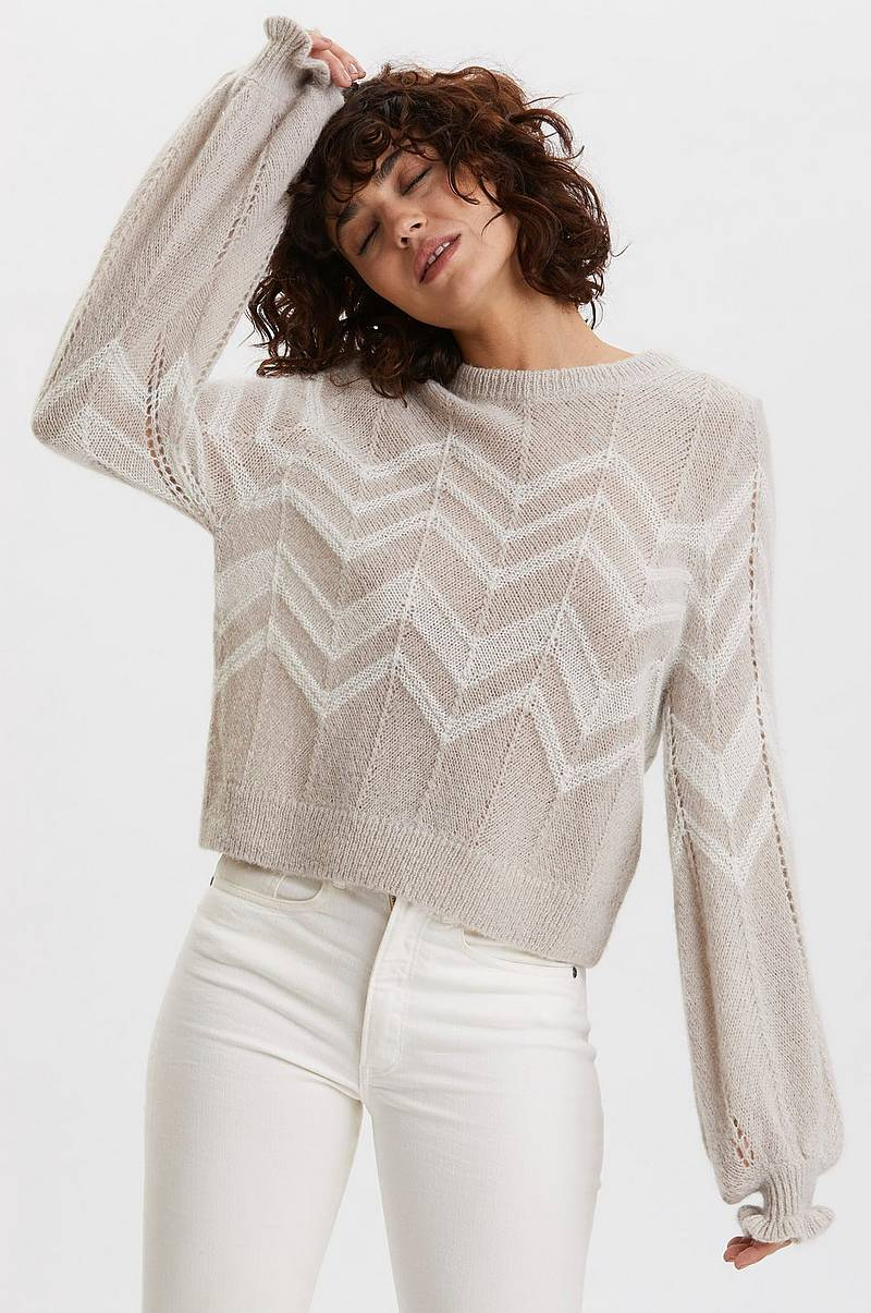 Trøje Magnetic Striped Sweater