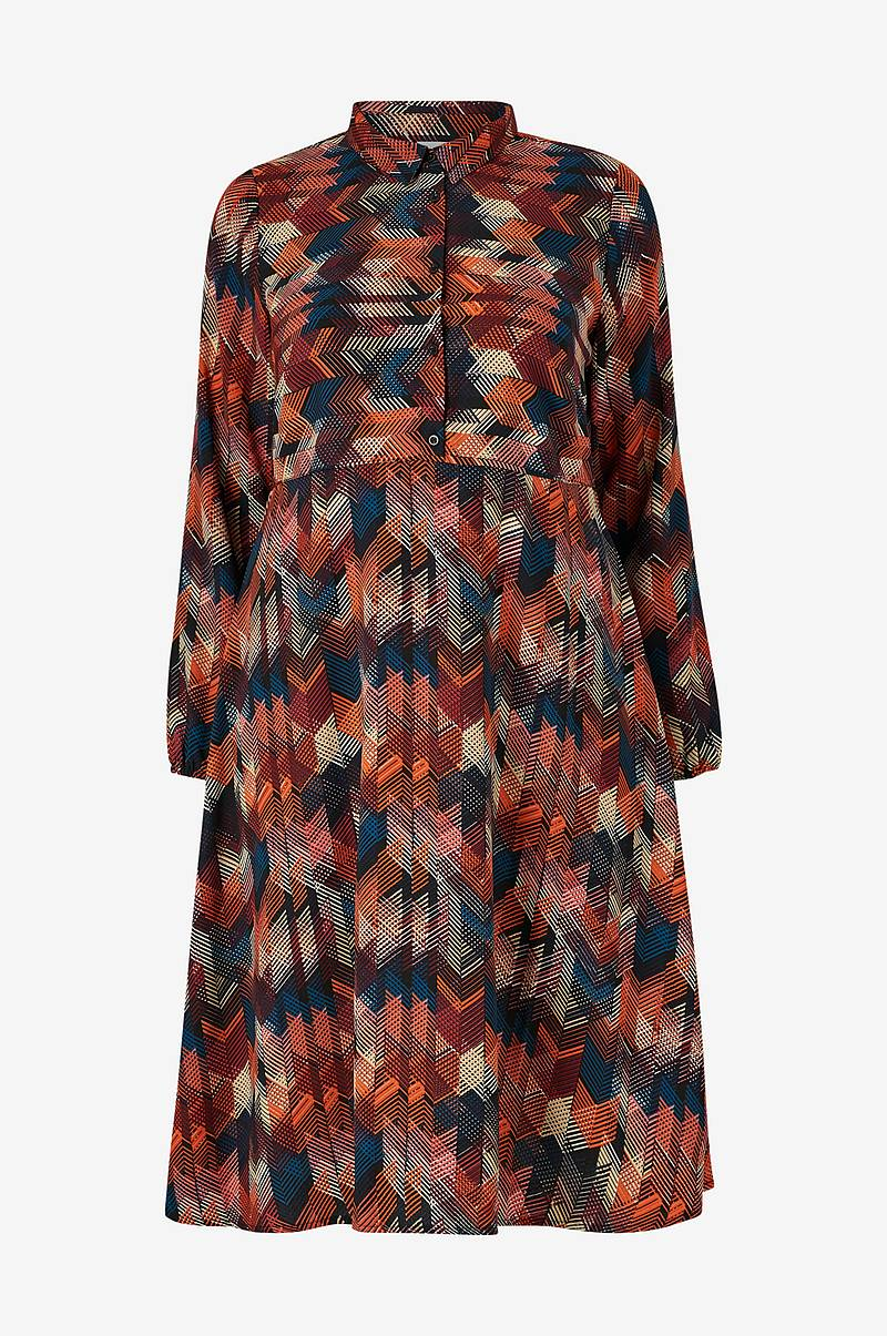 Kjole jrNabini LS Midi Dress