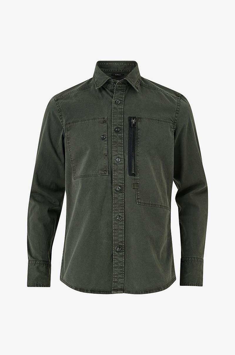Skjorte Powel Slim Shirt L/S