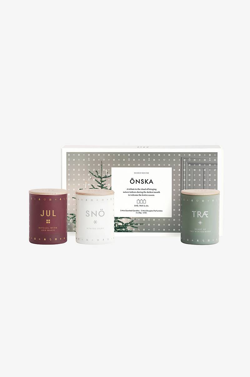 Gaveeske ÖNSKA Mini Candle Set