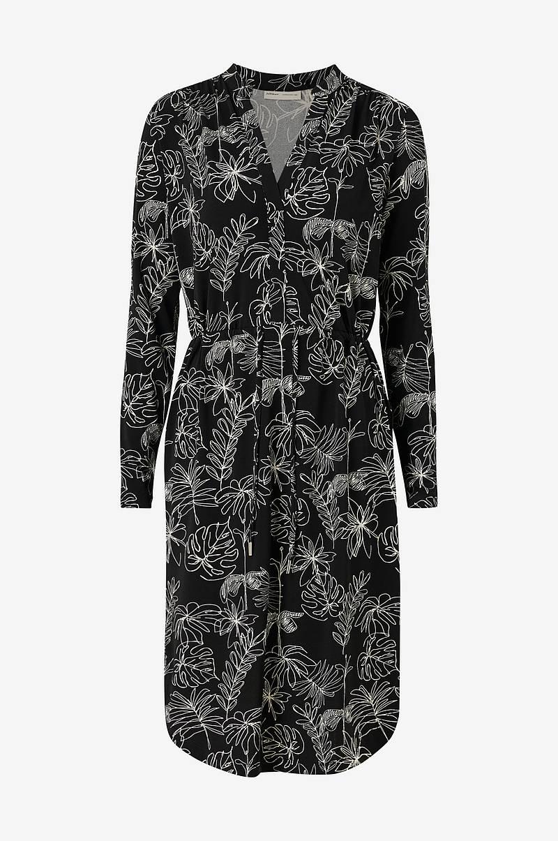 InWear Kjole Siri Wrap Dress Natur Dame Ellos.no