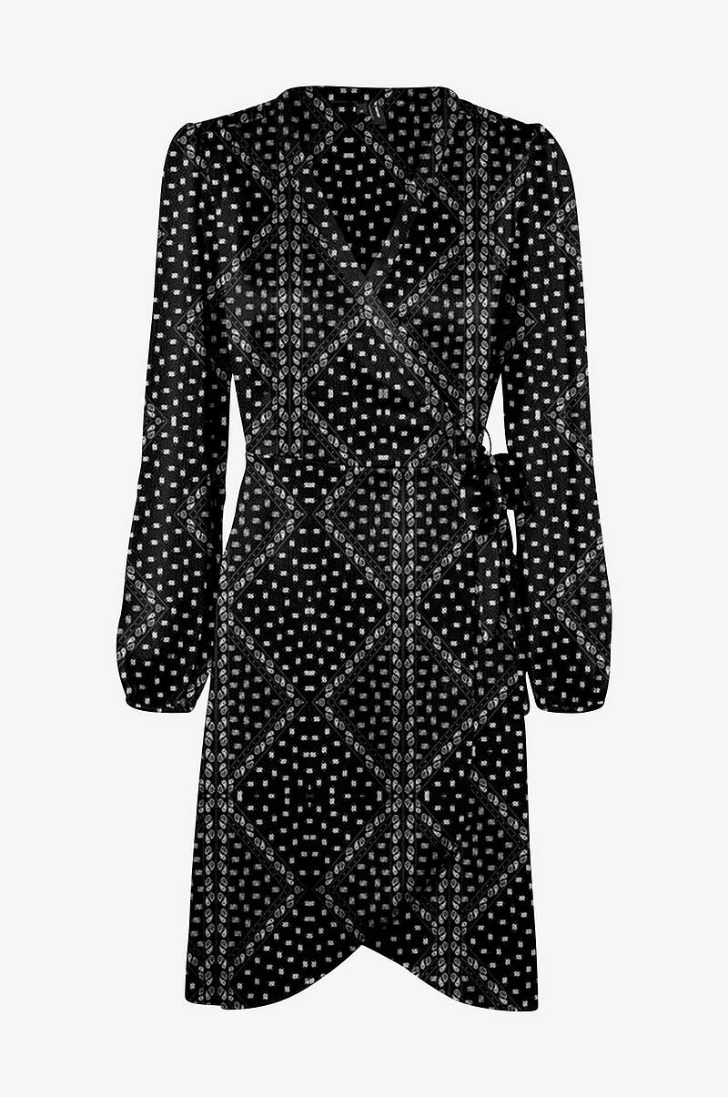 Slå om-kjole vmGamma L/S Wrap Dress