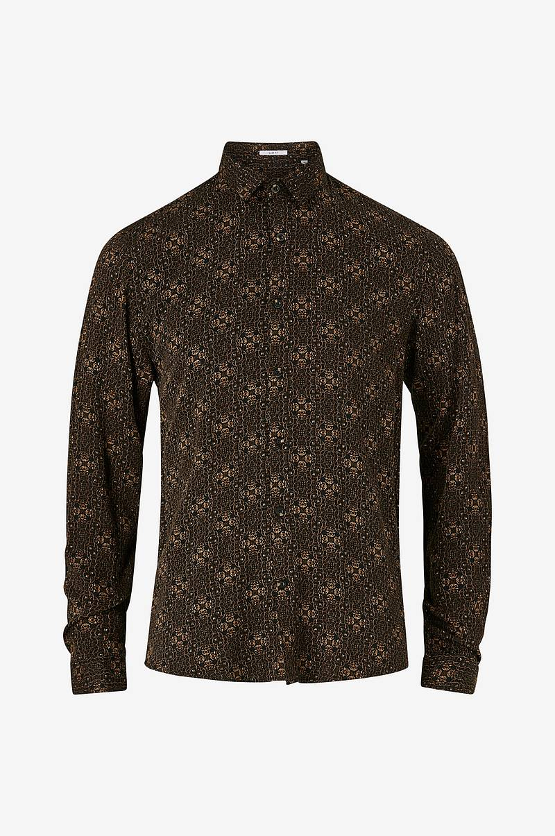 Kauluspaita Ornamental Viscose Shirt L/S
