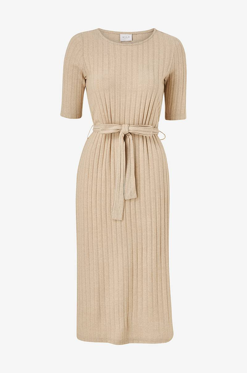 Kjole viSignes Midi 1/2 Sleeve Dress