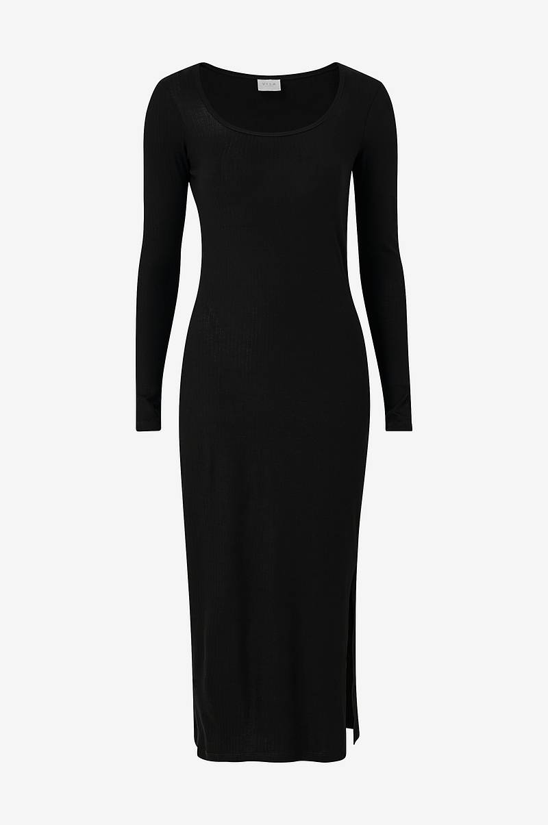 Kjole viSuloma L/S Midi Dress