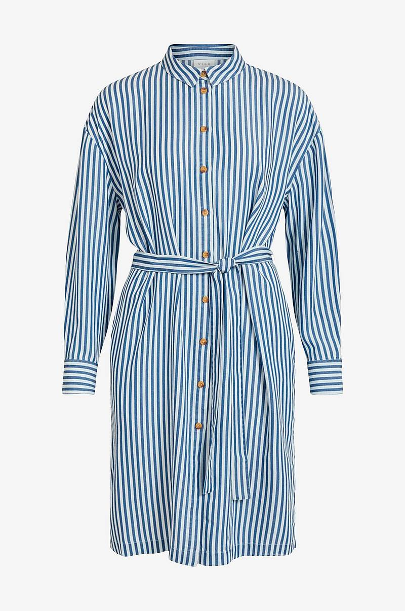 Skjortekjole viSuka L/S Shirt Dress