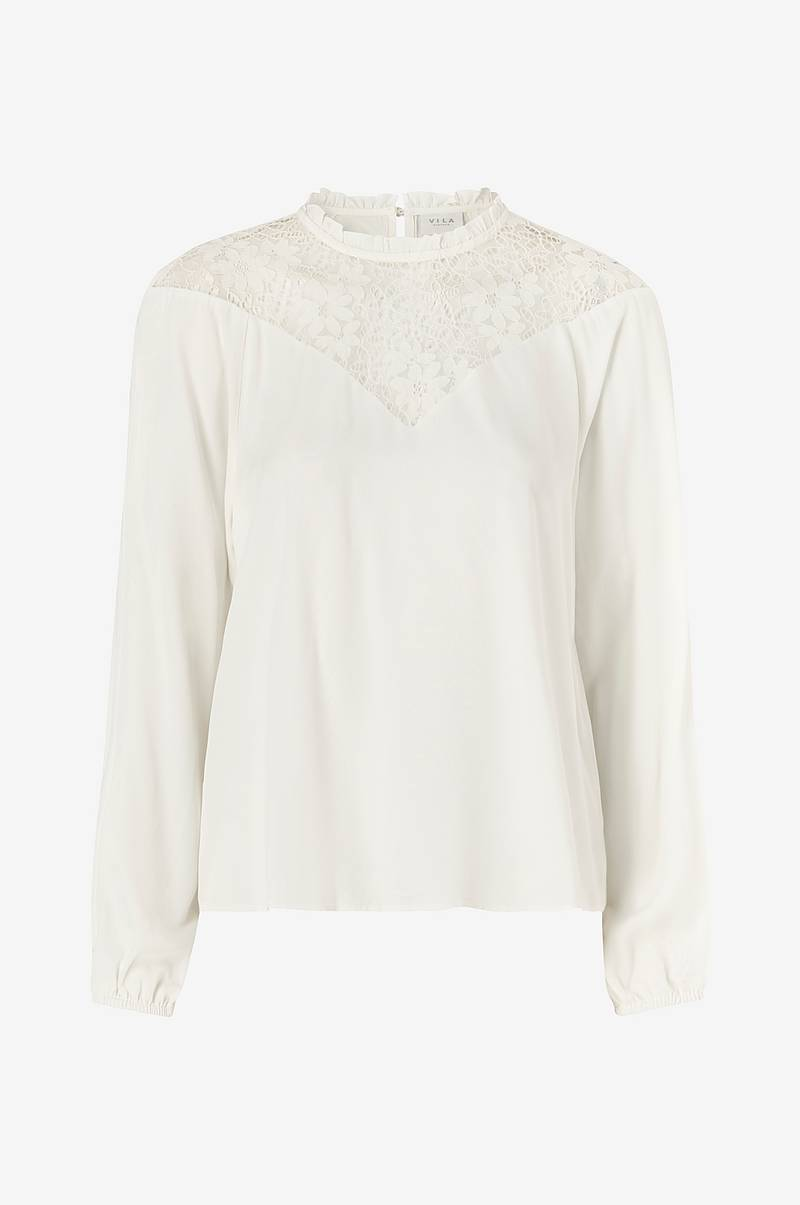 Pusero viSuvita L/S Lace Top