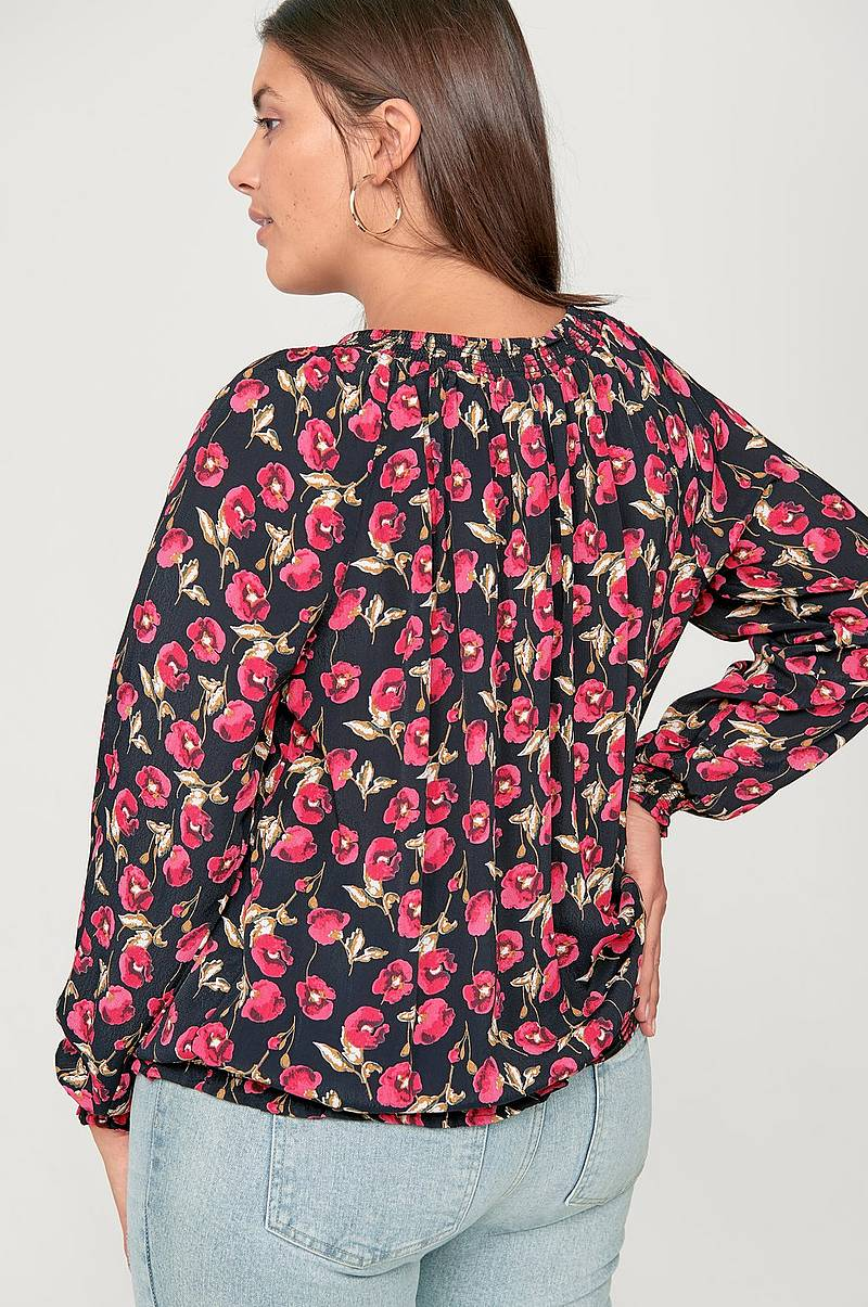 Blus mSille Smock Top