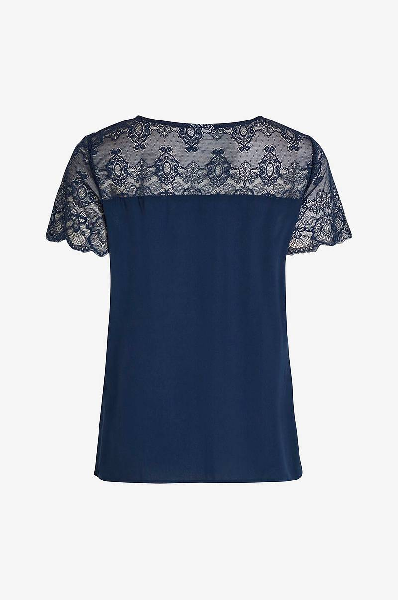 Bluse viMero Lace S/S Top