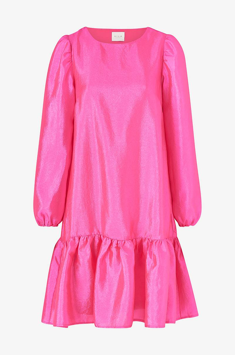 Kjole viRichter L/S Flounce Dress