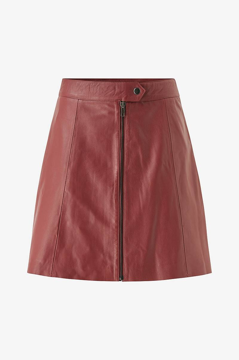 Nahkahame yasSanvi HW Leather Skirt