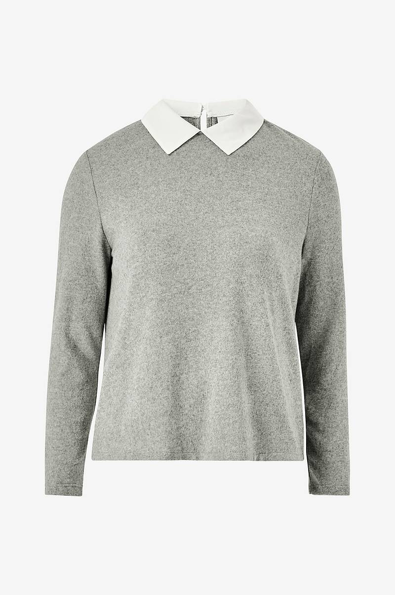 Genser jdyChoice Treats L/S Mix Collar Top