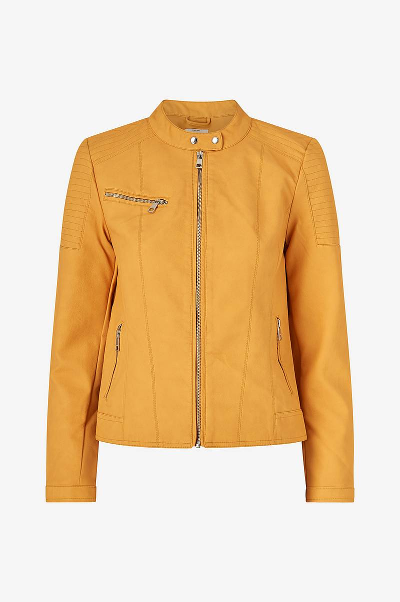 Jakke onlMelanie Faux Leather Jacket