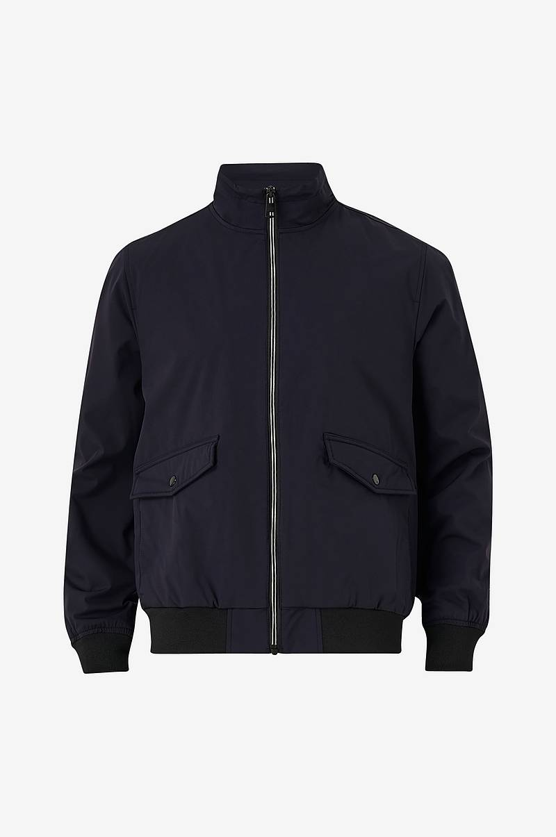 Jacka Nylon Harrington Jacket