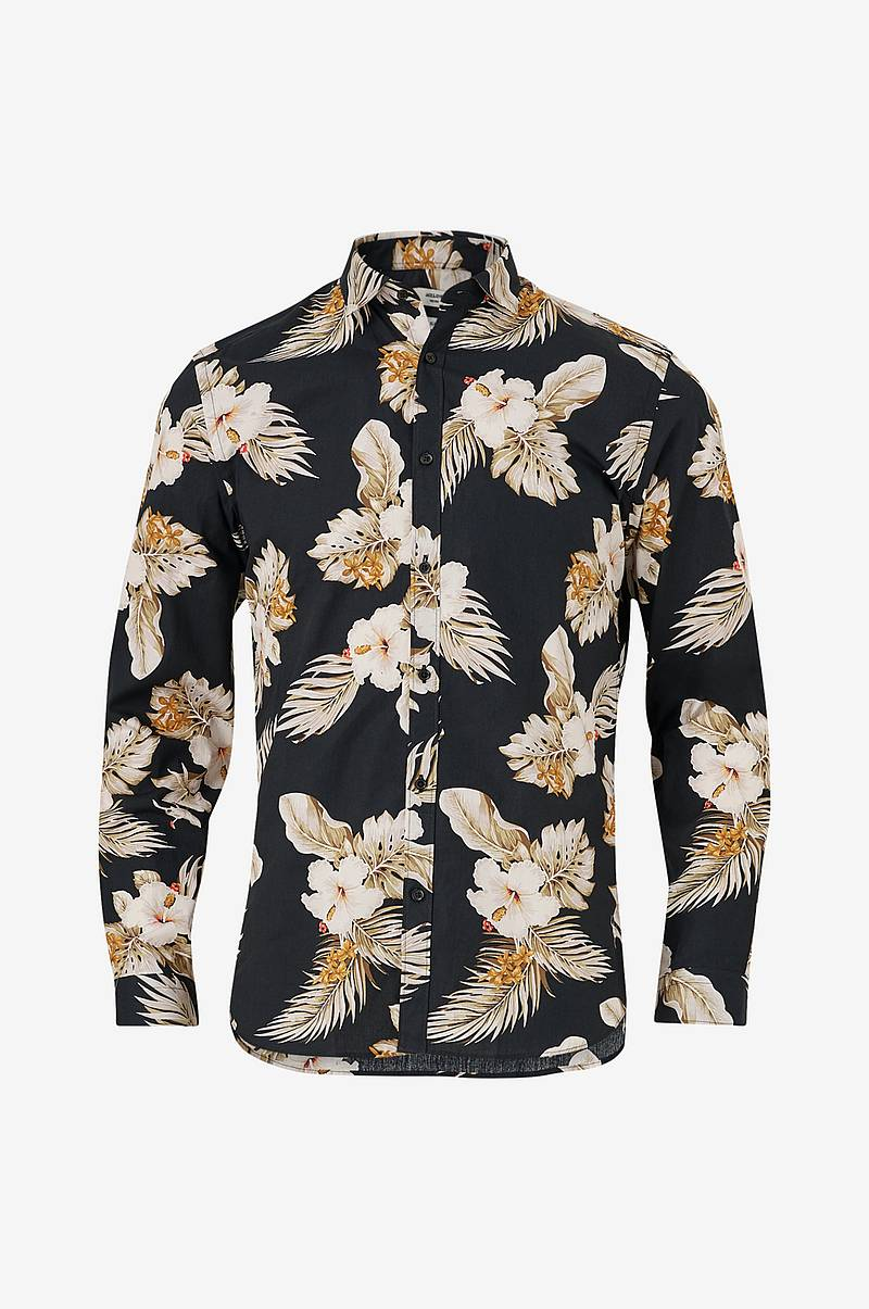 Skjorta jprBla Smith Flower Shirt L/S Pre, slim fit