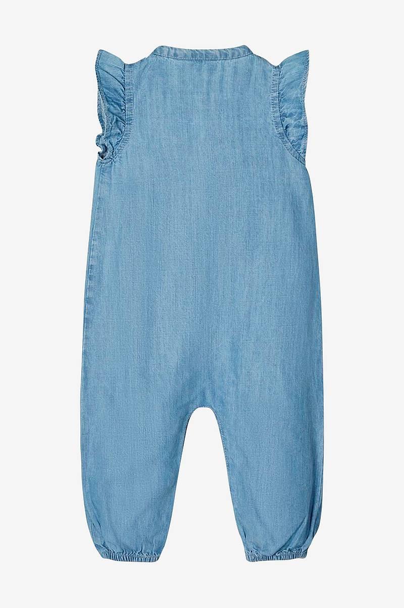 Morgan blue denim CALI Bootcut jeans Ensfarget 76% bomull