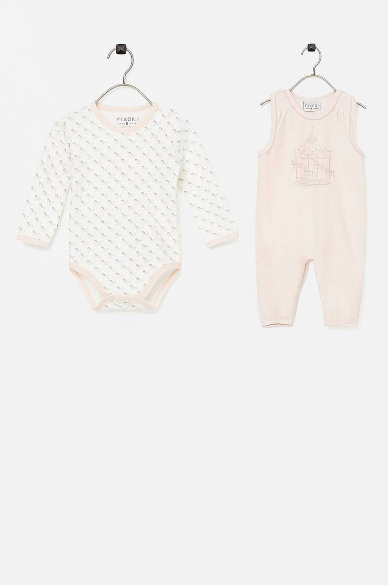 Body + potkupuku Kiss Romper Set