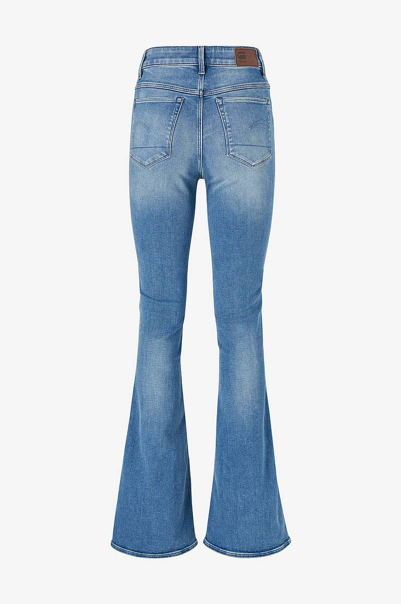 Jeans 3301 High Flare Wmn