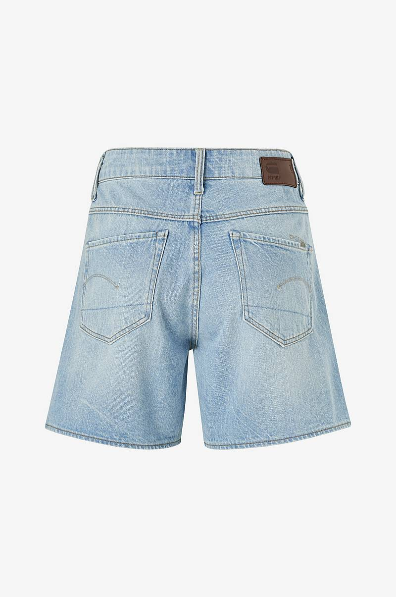 Farkkushortsit 3301 High Boyfriend Short Wmn