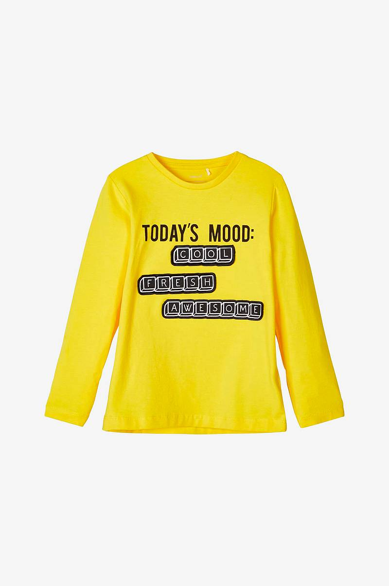 T-shirt nmmBotext LS Top Box