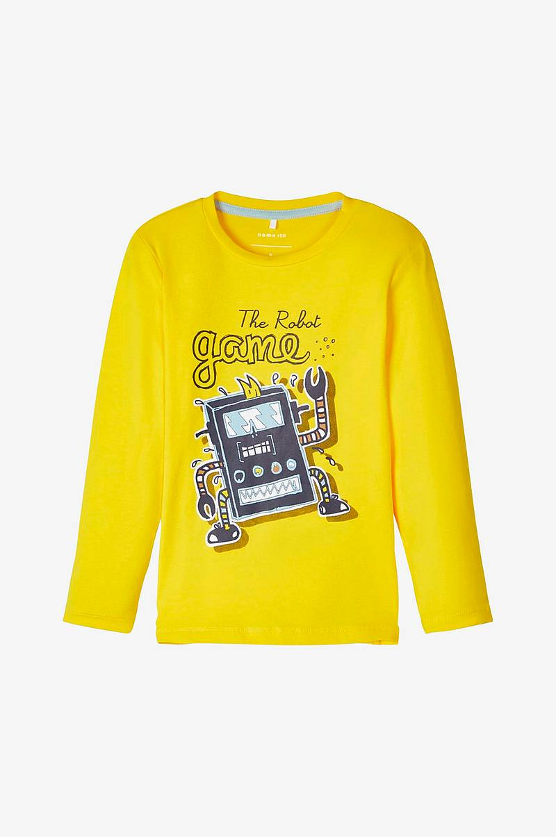 T-shirt nmmBotta LS Top Box