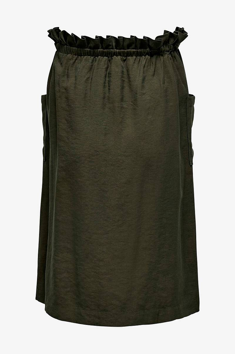 Nederdel carJanine Button Calf Skirt