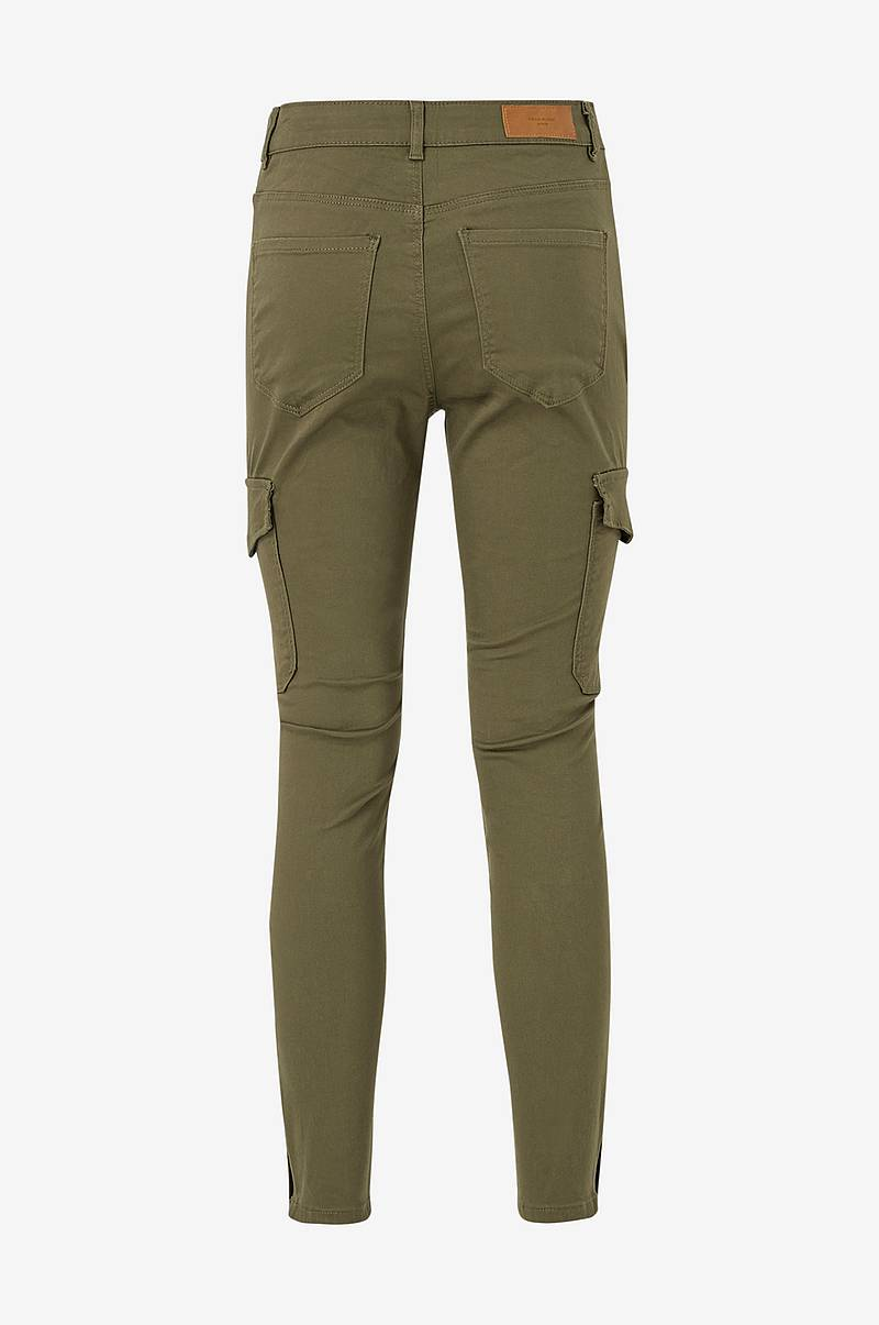 Cargobukse vmHot Seven MR Slim Cargo Ankle Pants