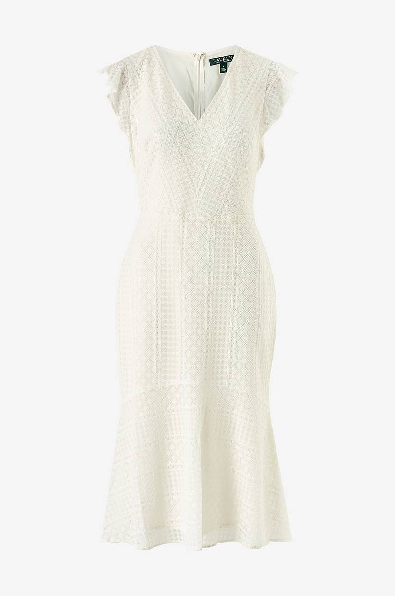 Blondekjole Celia Cap Sleeve Day Dress